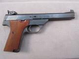 handgun: HIGH STANDARD SUPERMATIC CITATION, 22CAL SEMI AUTO TARGET PISTOL, S#SH25639