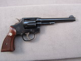 handgun: SMITH & WESSON MODEL 1905 4TH CHANGE , 38CAL DOUBLE ACTION REVOLVER, S#268468