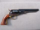 black powder handgun: ITALIAN COPY OF COLT 1849 POCKET, 31CAL SINGLE ACTION REVOLVER, S#1