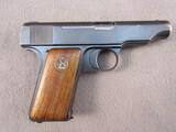 handgun: DEUTSCHE WERK ORTGIES, 32CAL SEMI AUTO PISTOL, S#72363
