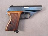 handgun: MAUSER MODEL HSc, 380CAL SEMI AUTO PISTOL, S#01.38771