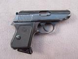 handgun: IVER JOHNSON MODEL TP22, 22CAL SEMI AUTO PISTOL, S#AE13744
