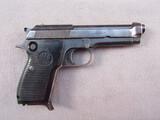 handgun: BERETTA MODEL 1951 BRIGADIER, 9MM SEMI AUTO PISTOL, S#25237