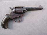 antique: handgun: COLT MODEL 1878 LIGHTNING, 38CAL DOUBLE ACTION REVOLVER, S#147624