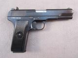 handgun:  SERBIA CZ MODEL M70A, 9MM SEMI AUTO PISTOL, S#Z-M70A-0001090