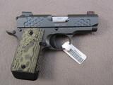 handgun: KIMBER MICRO 9KHX, 9MM SEMI AUTO PISTOL, S#PB0225325