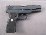 handgun: COLT ALL AMERICAN 2000, 9MM SEMI AUTO PISTOL, S#PF21802