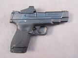 handgun: SMITH & WESSON M&P 9 SHIELD, 9MM SEMI AUTO PISTOL, S#JCZ5805