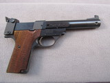handgun: HIGH STANDARD SUPERMATIC CITATION 107, 22LR SEMI AUTO PISTOL, S#2008196