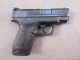 handgun: SMITH & WESSON M&P SHIELD, 9MM SEMI AUTO PISTOL, S#JFZ7284