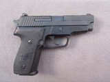 handgun: SIG SAUER MODEL M11-A1, 9MM SEMI AUTO PISTOL, S#55E018182