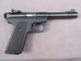 handgun: RUGER MARK III, 22LR SEMI AUTO PISTOL, S#27511886