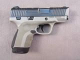handgun: HONOR DEFENSE HG9SC-GRA, 9X19 SEMI AUTO PISTOL, S#0011593