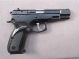 handgun: CZ MODEL 75B, 9MM SEMI AUTO PISTOL, S#43751