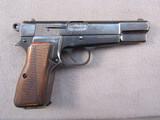 handgun: FEG HI POWER, 9MM SEMI AUTO PISTOL, S#63949