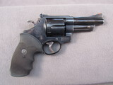 handgun: SMITH & WESSON MODEL 27-3, 357MAG DOUBLE ACTION REVOLVER, S#N914363