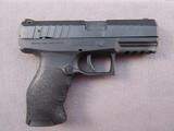 handgun: WALTHER MODEL PPX, 9MM SEMI AUTO PISTOL, S#FAS7572