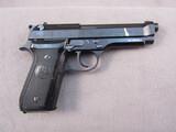 handgun: BERETTA MODEL 92S, 9MM SEMI AUTO PISTOL, S#U12487Z