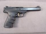 handgun: BROWNING BUCKMARK, 22CAL SEMI AUTO PISTOL, S#515MV10038