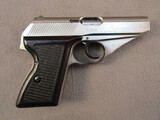handgun: MAUSER MODEL HSc, 380CAL SEMI AUTO PISTOL, S#01.34485