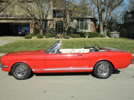 """1965 Ford Mustang GT """"Rally Pac"""" Convertible"""