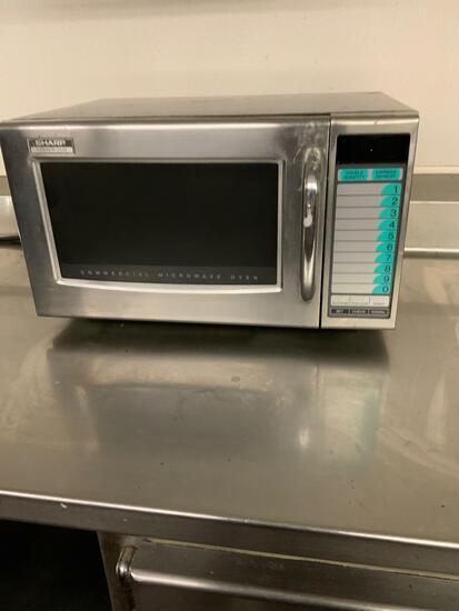 Sharp Commercial Microwave Model#R-21JV Serial #06919