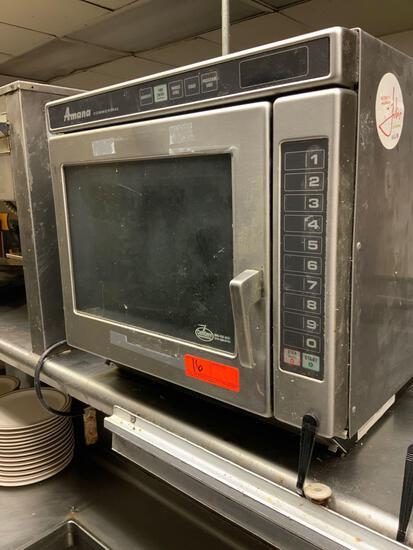 Amana Microwave Model #RC22S2 Serial #1004100568