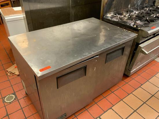 True Freezer - 2 Door - Model #TUC-48F - 1/2 horsepower 115 voltage