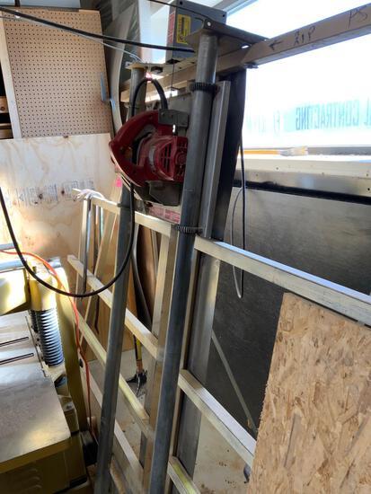 Millwaukee panel saw 3 horsepower single phase