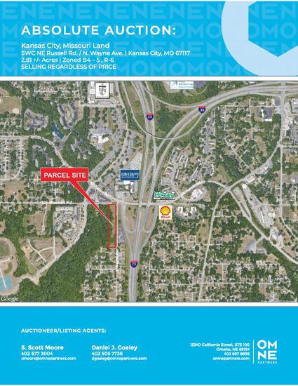 Kansas City Land Absolute Auction - 2.81 acres