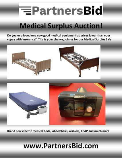 Surplus Medical equipment