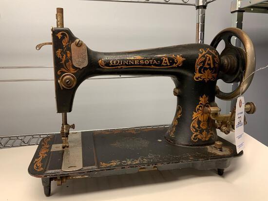 Minnesota Model A antique Sewing Machine