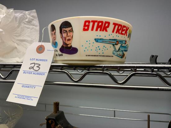 Star Trek Original Series Vintage Cereal Bowl