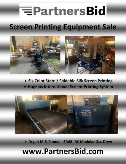 Screen Printing Equipment
