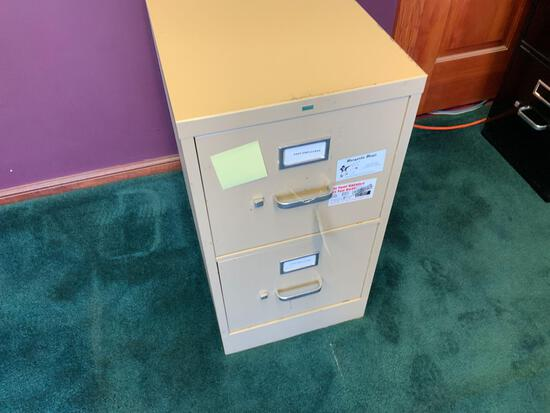 Two drawer metal file cabinet Pickup will be on Monday 3/29 from 1-6 pm at 1324 S. 119th Street. All