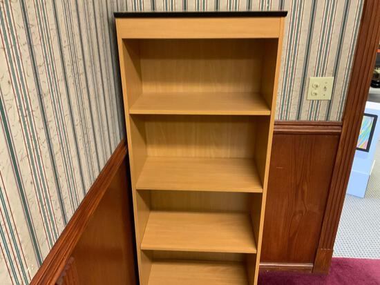 4 shelf wood book shelf Pickup will be on Monday 3/29 from 1-6 pm at 1324 S. 119th Street. All items
