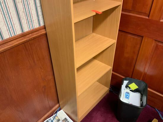 4 shelf bookshelf Pickup will be on Monday 3/29 from 1-6 pm at 1324 S. 119th Street. All items sold