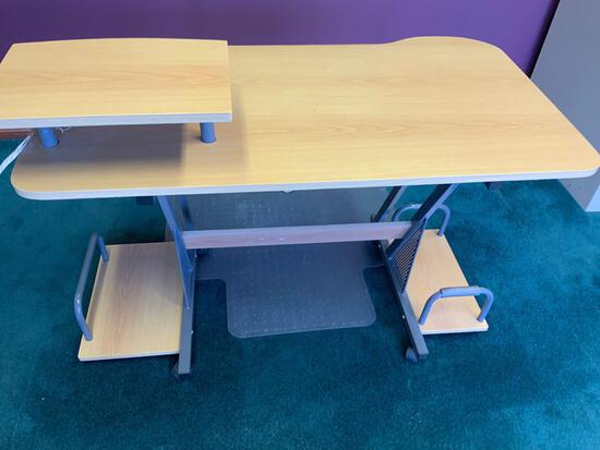 Desk work station Pickup will be on Monday 3/29 from 1-6 pm at 1324 S. 119th Street. All items sold