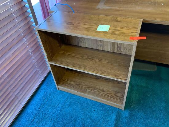 Two shelf, office book shelf Pickup will be on Monday 3/29 from 1-6 pm at 1324 S. 119th Street. All