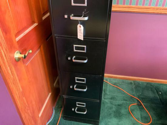 Hon four drawer metal file cabinet Pickup will be on Monday 3/29 from 1-6 pm at 1324 S. 119th