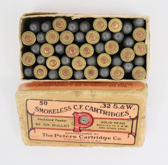 32 S&w Peters Smokeless In Original Box