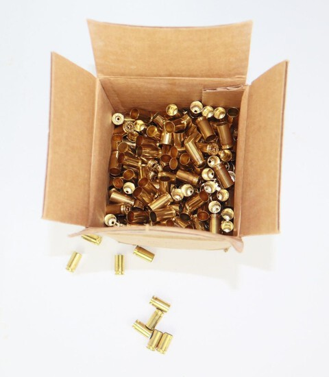 New Unfired Remington 9mm Luger Brass (500 Rounds)