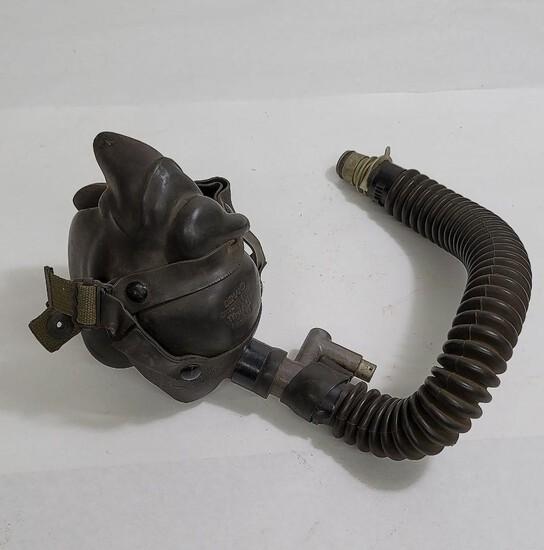 Ww2 A-14 Demand Pilot Oxygen Mask Size Medium