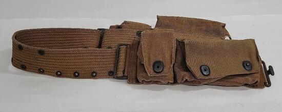 Ww1 Model 1914 Officers Medical Belt Mills