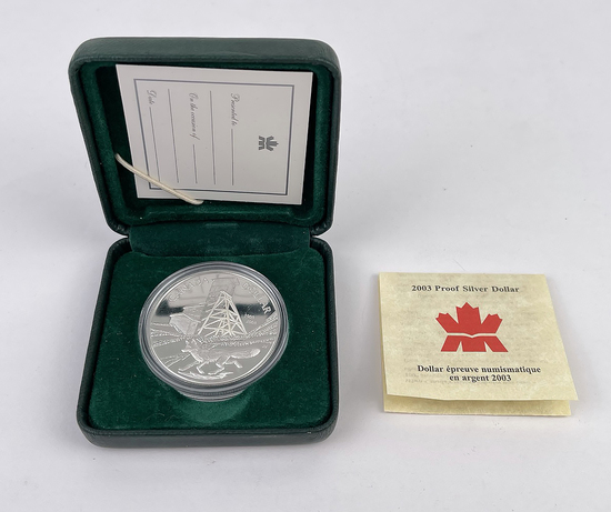 2003 Canada Proof Silver Dollar