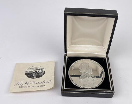 James Marshall 1810-1885 California Medal
