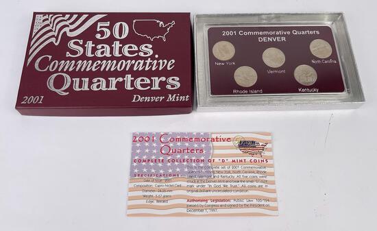 2001 Commemorative Quarters