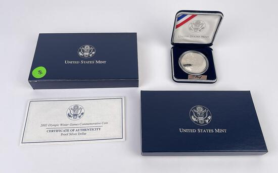 2002 Olympic Winter Games Silver Round