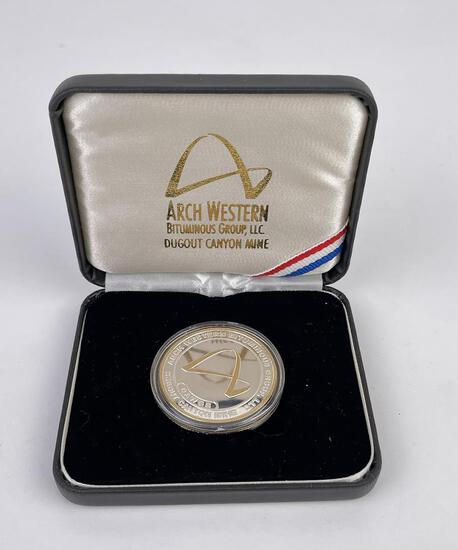 Arch Western Bitunimous Group Silver Round