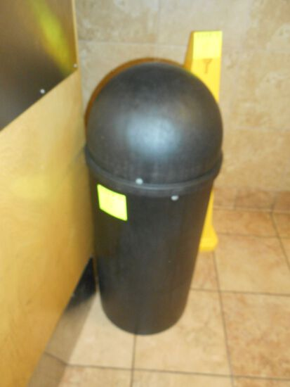 TORPEDO TRASH CAN